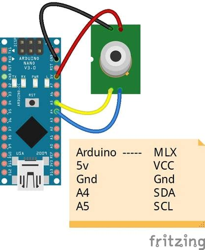Portable Thermometer with Android Device - Arduino Project Hub