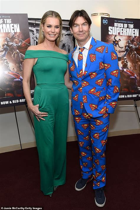 Jerry O'Connell sports Superman suit with wife Rebecca