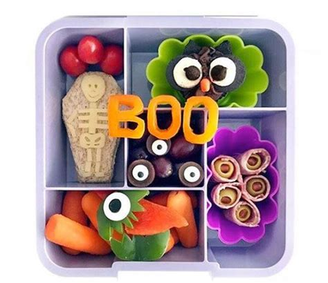 Clever Halloween Lunchbox Ideas for Kids and Kids at Heart