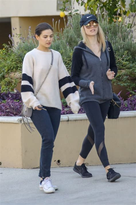 DANIELLE CAMPBELL Out for Lunch in West Hollywood 02/08