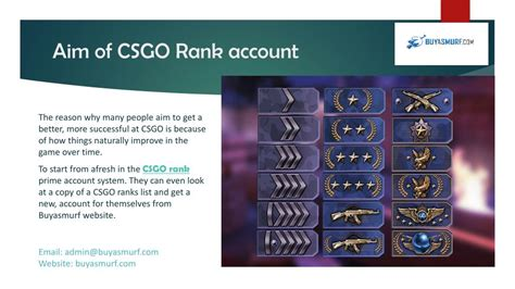PPT - Become a best Player with High CSGO Rank account