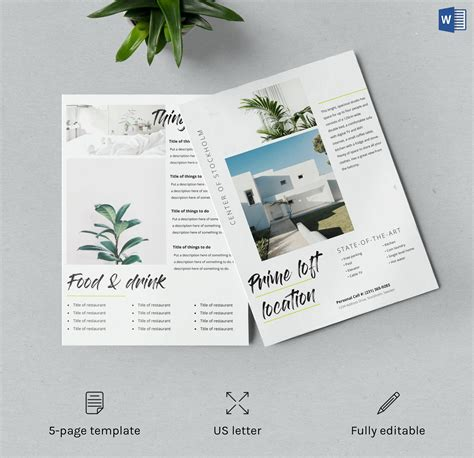 Airbnb Welcome Kit Template Word Doc ~ Flyer Templates
