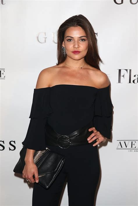 Danielle Campbell At Flaunt And Guess Celebrate The