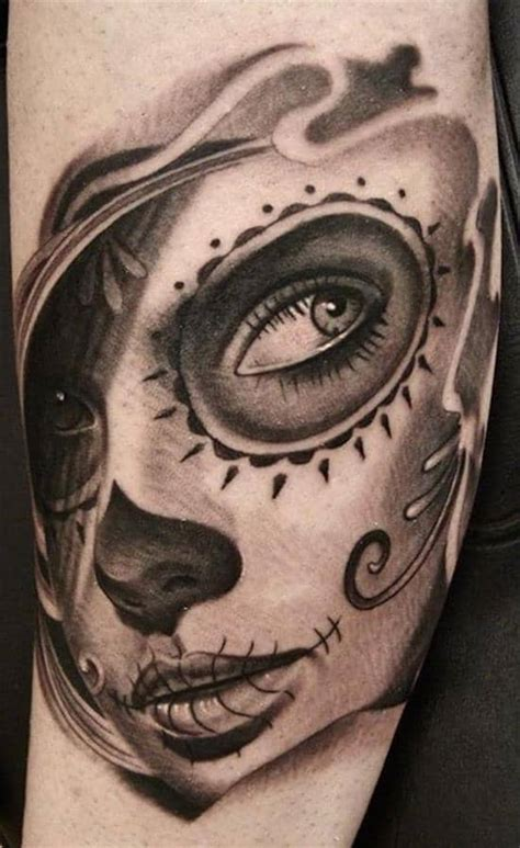 150 Show-Stopping Day of the Dead Tattoos (June 2020)