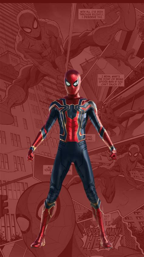 Spider-Man-New-Suit-Tom-Holland-iPhone-Wallpaper - iPhone