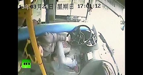 Check Out This Chinese Bus Driver's Amazing Reactions As A