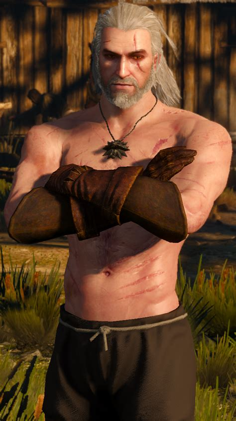 Anyone have an image of Geralt that really shows his