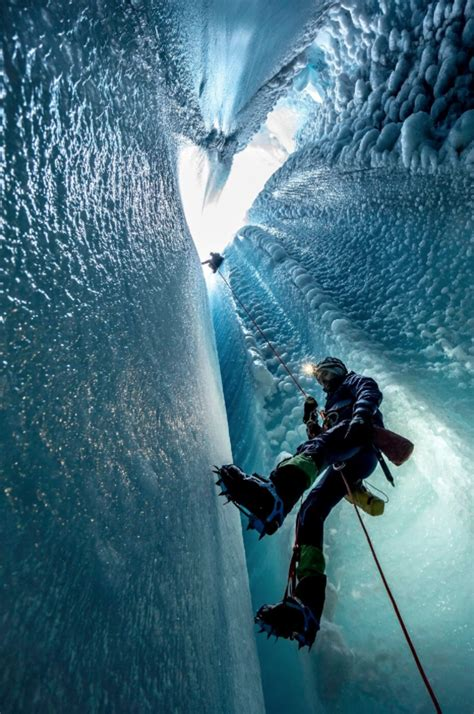 Deep Into Greenland's Glacial Ice Caves - The Purist