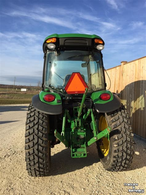 John Deere 4066R 4WD HYDRO COMPACT TRACTOR ONTARIO - Used