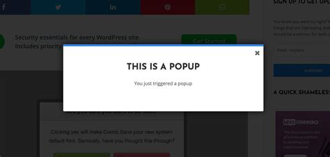 Easy Popup Overlay with jQuery | Quick Clean Code