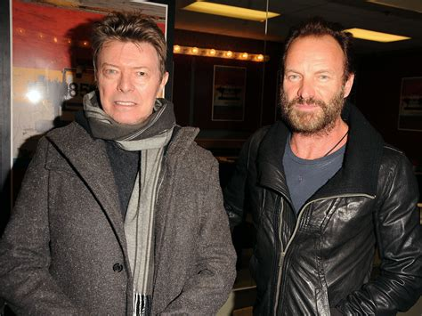 Sting Releases Statement After David Bowie's Death