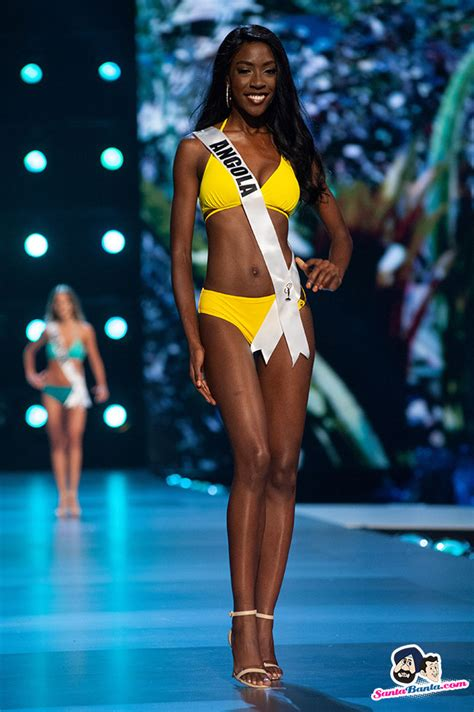 Miss Universe 2018 Swimsuit Competition -- Miss Angola