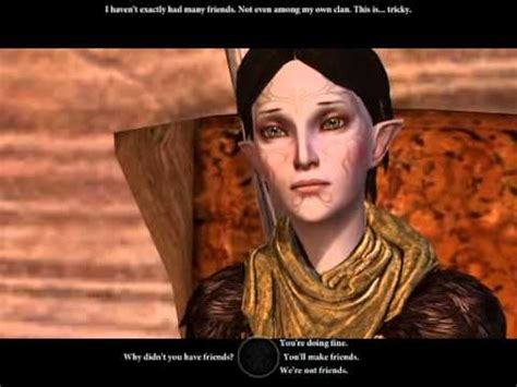 Dragon Age 2 - Merrill - Coming to Visit - YouTube