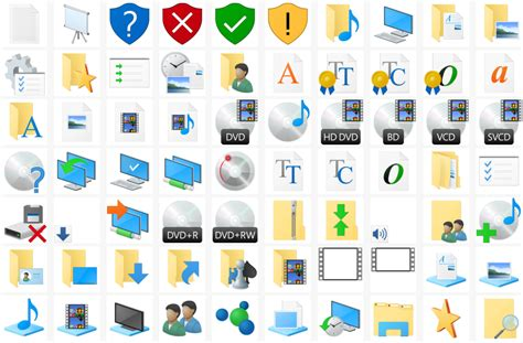 Download icons from Windows 10 build 10125 - Winaero