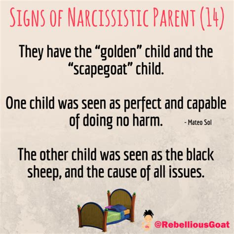 Quote 115 – Signs of Narcissistic Parent 14 – Rebellious