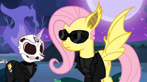 Fluttershy & Ghost Pony Rider 2 (Nostalgia Critic Ghost