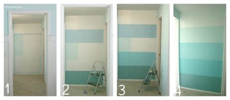 Ombre Accent Wall