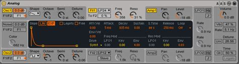 Getting a full synth sound in Ableton Live 9 Suite