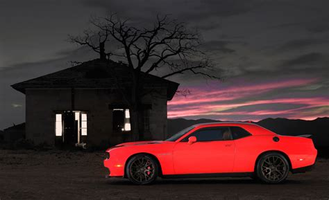 Dodge Challenger SRT Hellcat Is The Most Powerful Muscle