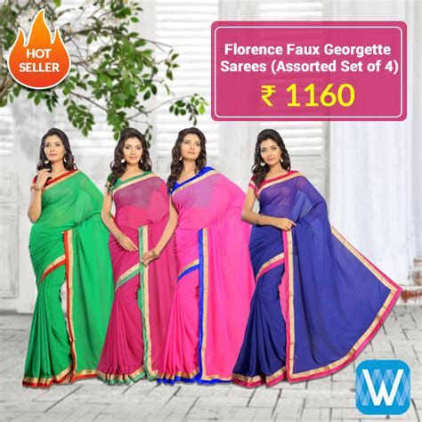 Retailers, source assorted saree sets from #Wydr Wholesale