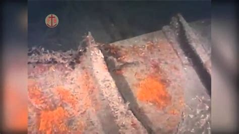 Underwater footage of wreck of WWI German SMS Lutzow