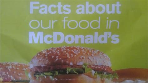Calories In McDonald's- Quarter Pounder w/Cheese and More