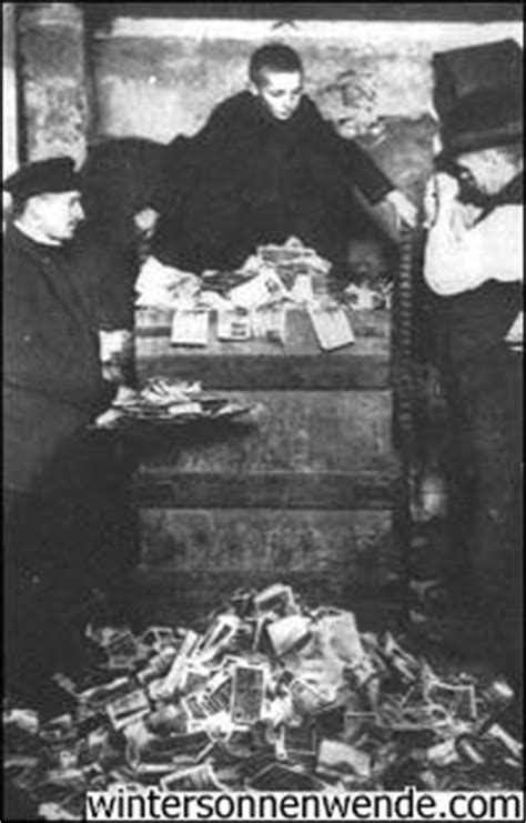 Germany's 1923 Hyperinflation: a 'Private' Affair