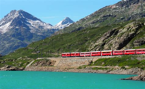 Our ultimate guide to the Bernina Express train line