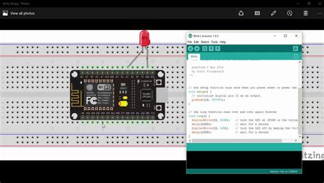Getting Started with ESP8266 12E or NodeMCU using Arduino