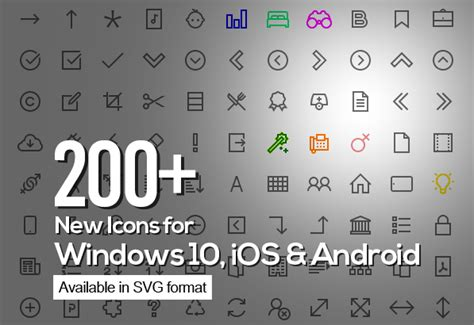 Windows 10 Icons - Free   Freebies   Graphic Design Junction