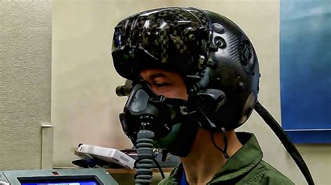 RNoAF Pilot Gets Fitted For F-35 Gen III Helmet - YouTube