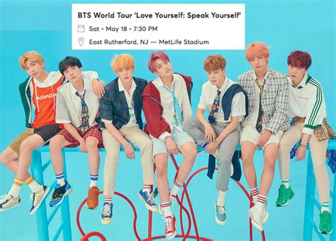 Ticket For Sale: BTS World Tour, East Rutherford, New