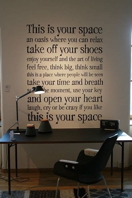 30 Interior Designs with Inspirational Qoutes - MessageNote