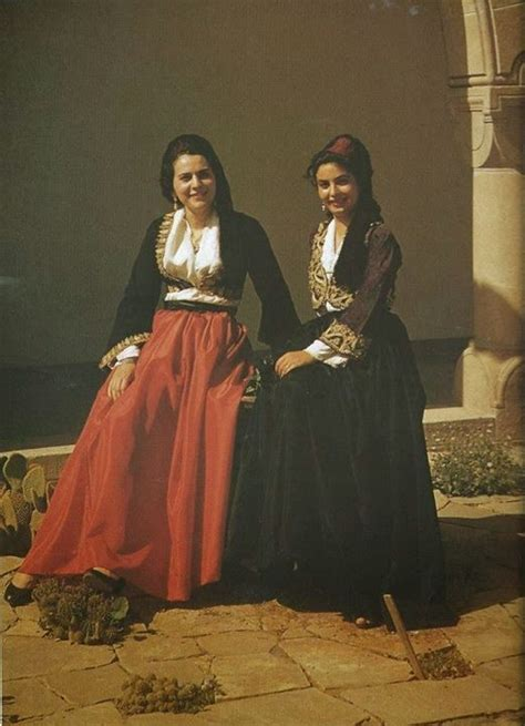 Costumes from Cyprus - pour CHYPRE | Greek traditional