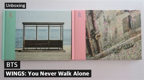 Unboxing ♡ BTS You Never Walk Alone (WINGS: Extension