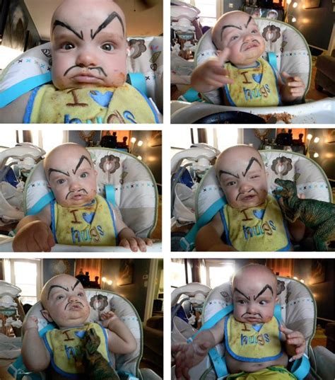 This Ming the Merciless Baby Has Evil (Funny) Parents