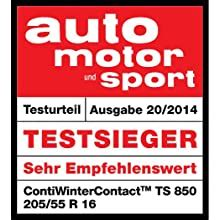 CONTINENTAL - ContiWinterContact TS 850 - 195/65 R15 91T