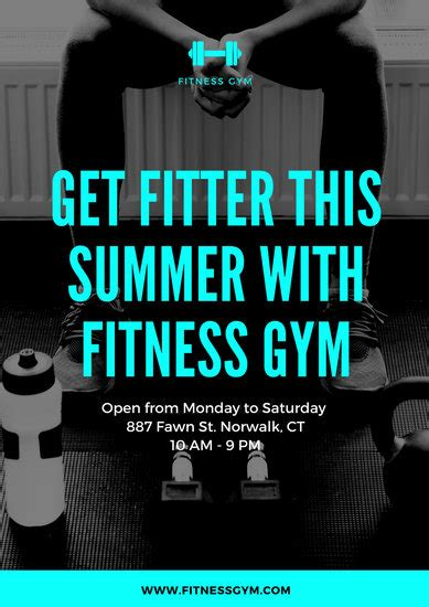 Customize 154+ Gym Poster templates online - Canva