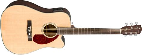 Fender CD-140SCE with Case, Natural