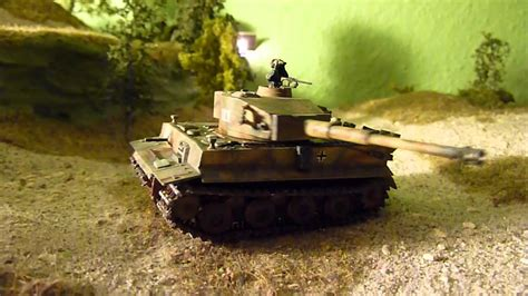 RC Tiger Panzer 1/87 Modell - YouTube