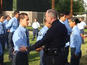 LAPD Blog: Chief Bratton Inspects High School Police