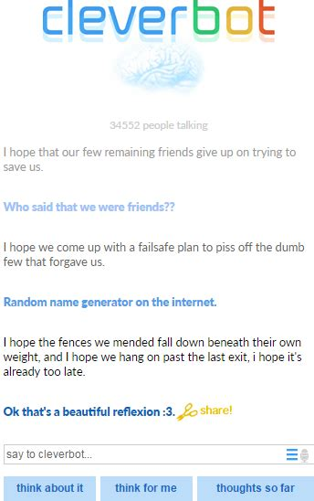 god dammit; cleverbot | Tumblr