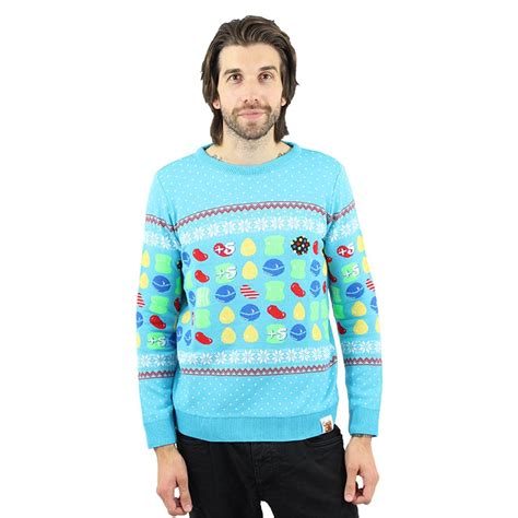 Christmas Jumper: Candy Crush, Pac-Man, Fallout und Marvel