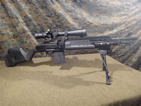 MagPul SGA Adapted for the M1A/M14 EBR Chassis by Sage