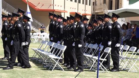 LAPD Detention Officer Class 8-16 Graduation - YouTube