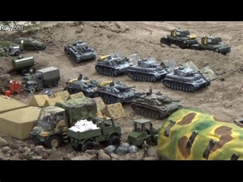 RC Tanks Panzer in Action WW2 ♦ Tiger Leopard