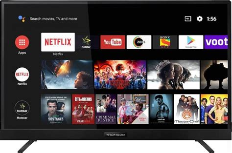 T 43-inch LED 4K Smart Android TV (43OATH1000