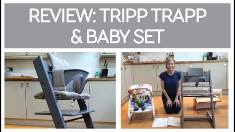 REVIEW : STOKKE TRIPP TRAPP & BABY SET - ARRIVAL & SET-UP